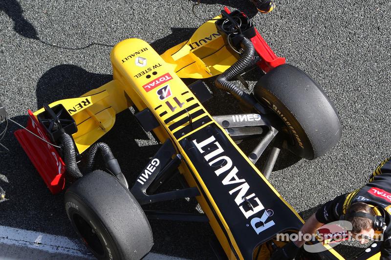Renault F1 Team, detail