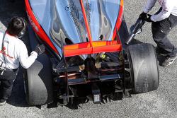 détail McLaren Mercedes