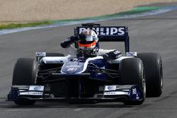 Nico Hulkenberg, Williams F1 Team, stops on circuit