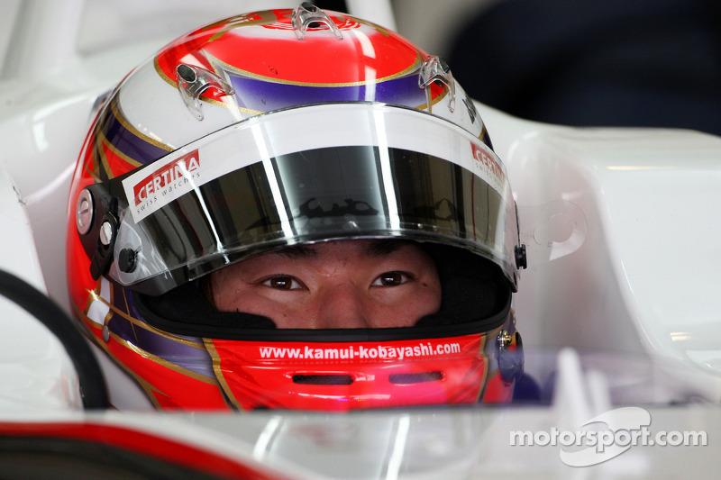 Kamui Kobayashi, BMW Sauber F1 Team
