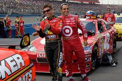 Jamie McMurray, Earnhardt Ganassi Racing Chevrolet et Juan Pablo Montoya, Earnhardt Ganassi Racing Chevrolet