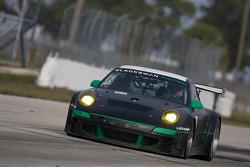 #54 Black Swan Racing Porsche 911 GT3 RSR: Tim Pappas, Jeroen Bleekemolen