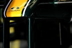 Lotus F1 Team, front wing detail