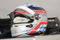 Helmet of Takuma Sato, KV Racing Technology