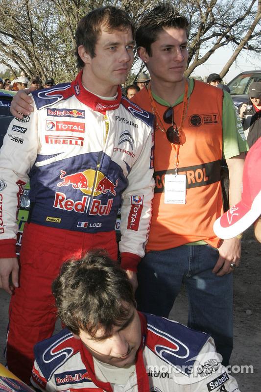 Sébastien Loeb en Daniel Elena