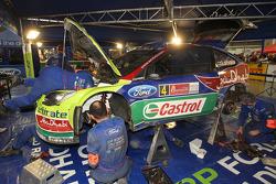 BP Ford Abu Dhabi World Rally Team servicegebied