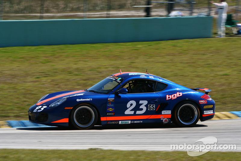 #23 BGB Motorsports Porsche Cayman: Keith Carroll, Duncan Ende
