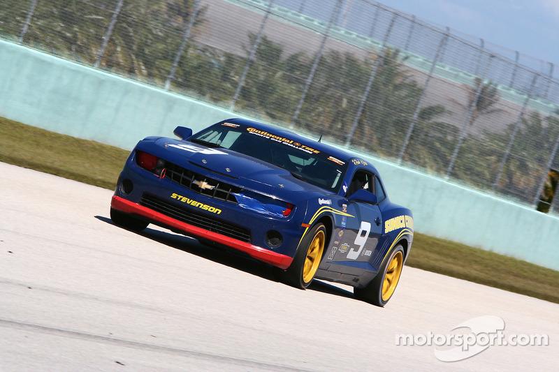 #9 Stevenson Motorsports Camaro GS.R: Al Carter, Hugh Plumb