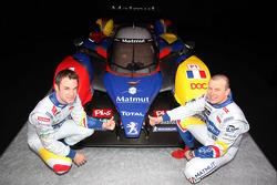 Nicolas Lapierre and Olivier Panis with the ORECA-Matmut Peugeot 908 HDi FAP