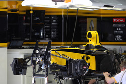 The Renault garage