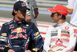 Mark Webber, Red Bull Racing, Jenson Button, McLaren Mercedes