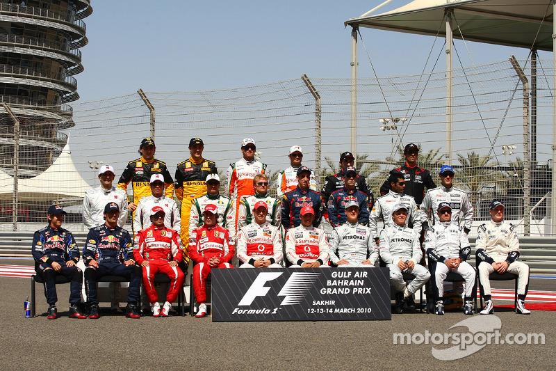 Пилоты Формулы 1 сезона-2010