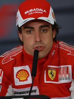 Press conference: race winner Fernando Alonso, Scuderia Ferrari