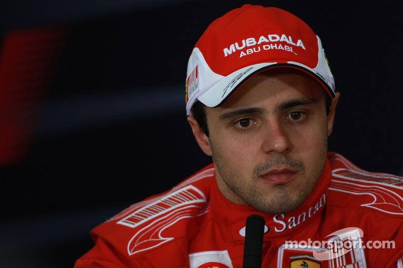 Persconferentie: 2de Felipe Massa, Scuderia Ferrari