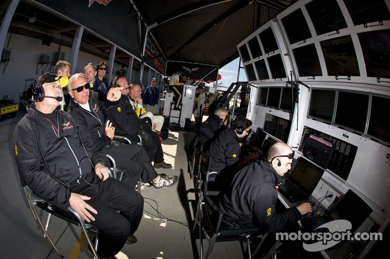 Corvette Racing pit