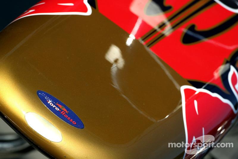 Scuderia Toro Rosso voorvleugel