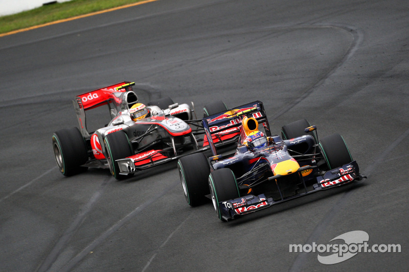 Mark Webber, Red Bull Racing, Lewis Hamilton, McLaren Mercedes