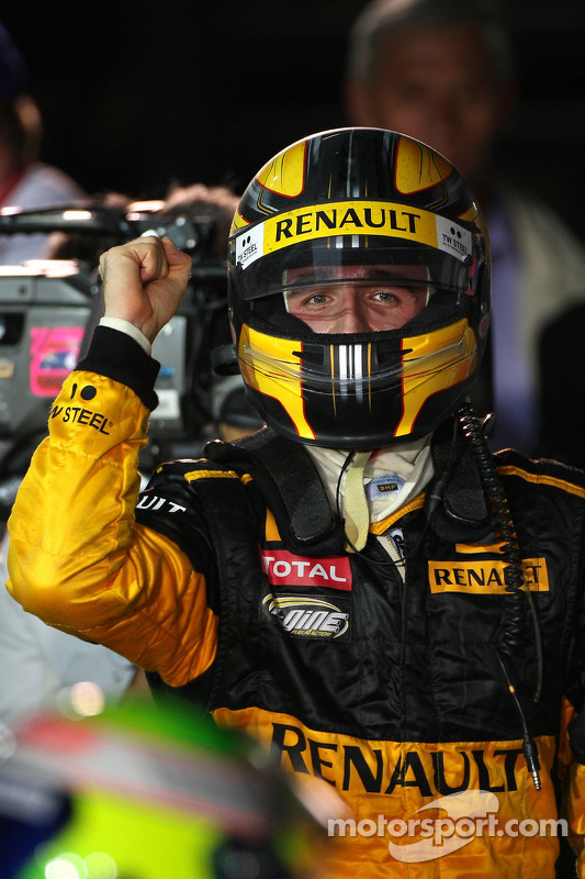 2de plaats Robert Kubica, Renault F1 Team