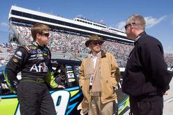 Carl Edwards, Roush Fenway Racing Ford, Jack Roush and Bob Osborne