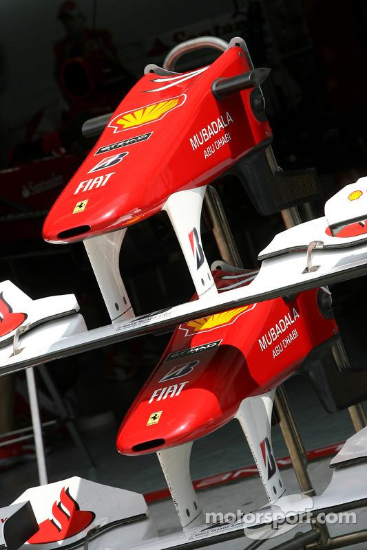 Scuderia Ferrari voorvleugels