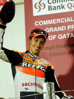 Podium: 3e Andrea Dovizioso, Repsol Honda Team