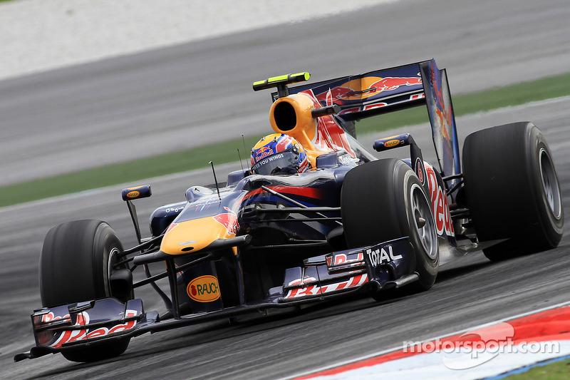 20º Mark Webber - 14 carreras - De Brasil 2010 a Bélgica 2011 - Red Bull
