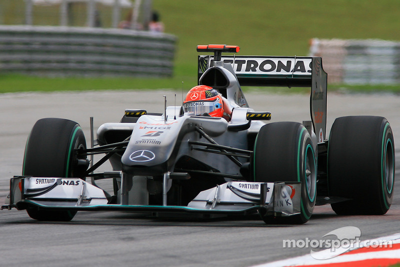 2010: Schumacher vuelve, con Mercedes, a la F1