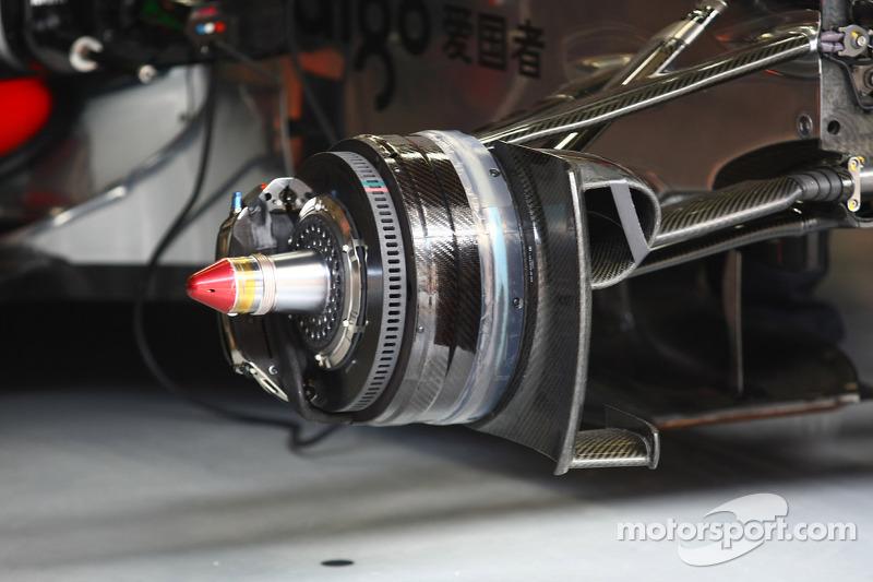 McLaren brakes