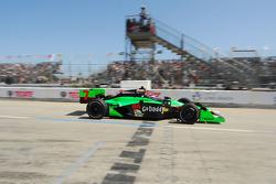 Danica Patrick, Andretti Autosport leaves the pits
