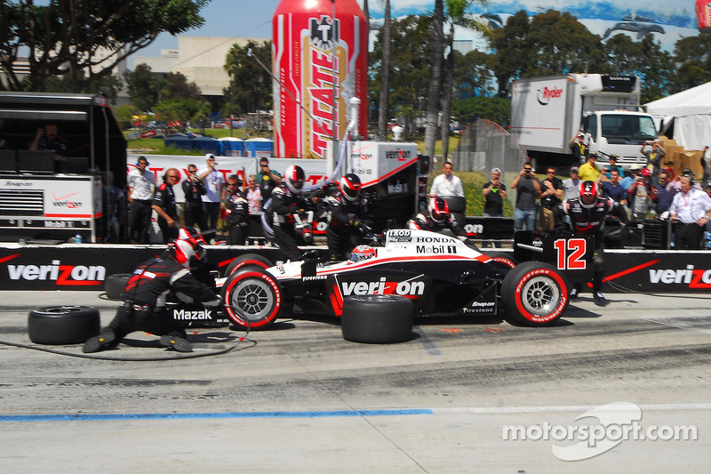 Will Power, Team Penske, pitstop