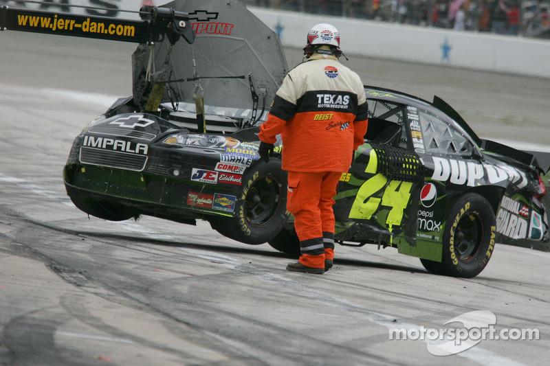 Auto van Jeff Gordon, Hendrick Motorsports Chevrolet na de crash