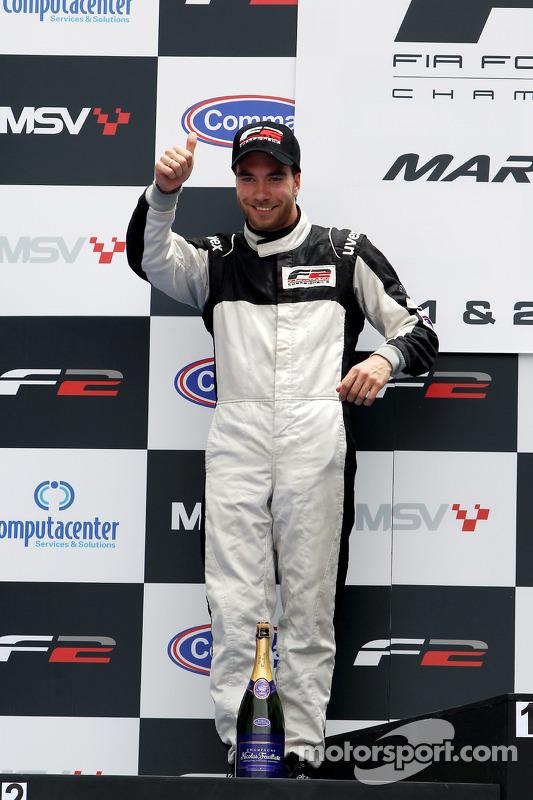 Race 1 podium: 1ste Dean Stoneman, 2de Philipp Eng, 3de Kelvin Snoeks
