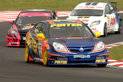 Andrew Jordan leads Dave Pinkney and Tom Chilton