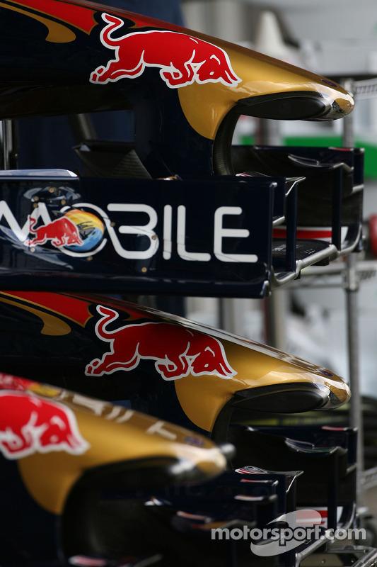 Scuderia Toro Rosso vleugels