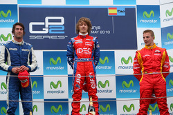 Podium: winner Charles Pic, second place Giacomo Ricci, third place Dani Clos