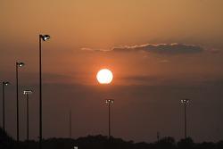 Le soleil se couche sur Darlington