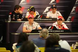 Timo Glock, Virgin Racing, Robert Kubica, Renault F1 Team, Sebastien Buemi, Scuderia Toro Rosso, Jenson Button, McLaren Mercedes, Felipe Massa, Scuderia Ferrari