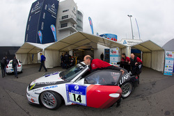 Tsunami RT Porsche 997 GT3 Cup at technical inspection