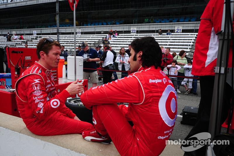 Scott Dixon, Target Chip Ganassi Racing en Dario Franchitti, Target Chip Ganassi