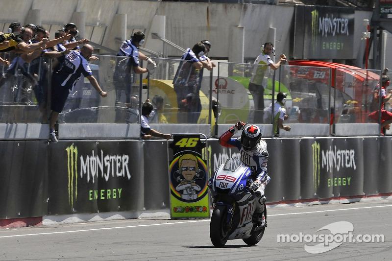 2010 : Jorge Lorenzo (Yamaha YZR-M1)