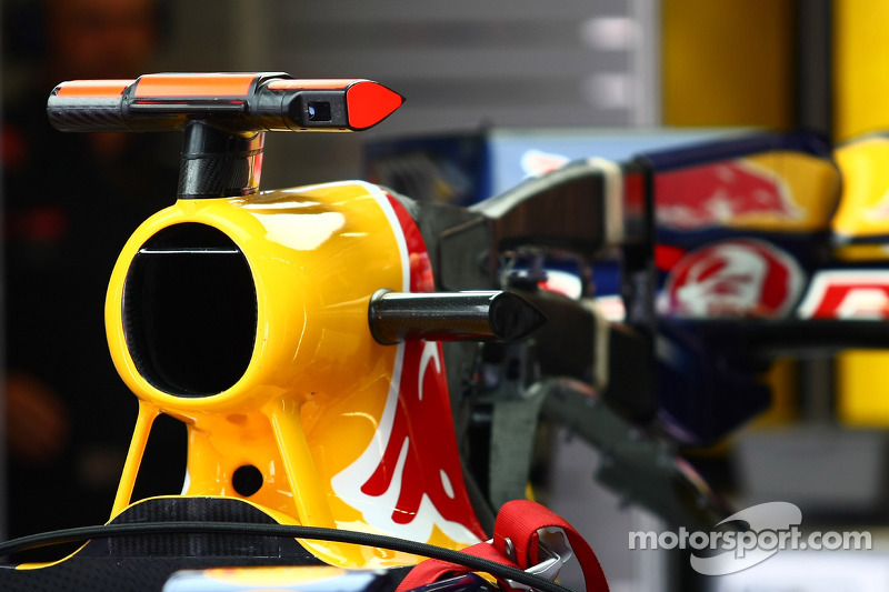 Red Bull luchtinlaat F-Duct
