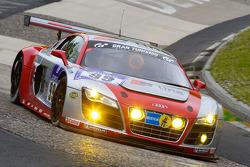 #99 Phoenix Racing Audi R8 LMS: Frank Biela, Marcel Fässler, Pierre Kaffer, Marc Hennerici