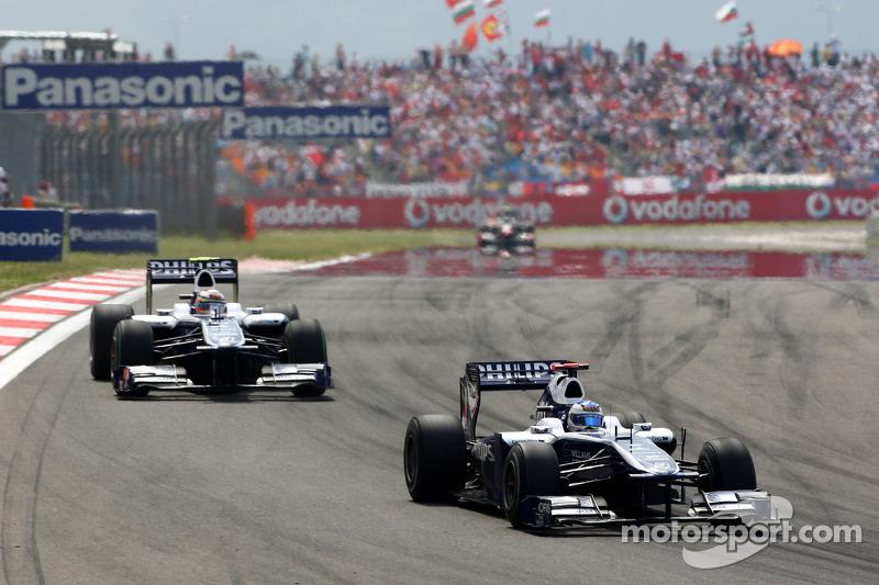 Rubens Barrichello, Williams F1 Team voor Nico Hulkenberg, Williams F1 Team