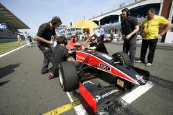 Rio Haryanto on the grid