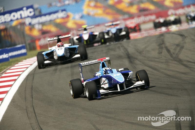 Patrick Reiterer leads Mirko Bortolotti