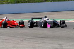 #22 Carlos Antunes Tavares, Dallara Nissan WS and #21 Karl-Heinz Becker, Dallara Nissan WS