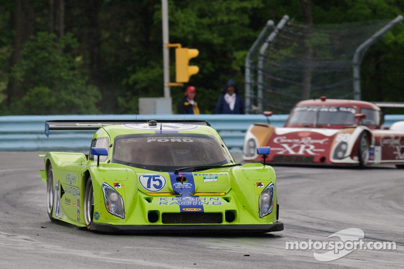 #75 Krohn Racing Ford Lola: Nic Jonsson, Tracy Krohn