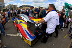 #4 Team Oreca Matmut Peugeot 908 out of scrutineering