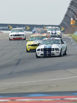 #19 Capaldi Racing Ford Mustang: Brad Adams, Steve Phillips