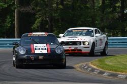 #88 Ranger Sports Racing Porsche 997: Fraser Wellon, Barry Ellis